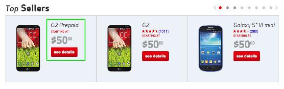 据报道,4G LTE于7月17日抵达Verizon预付款