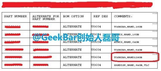 iPhone 6 Docs确认128GB版本,没有32GB的迹象