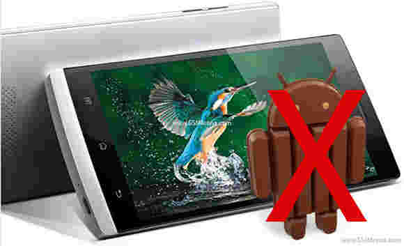 Oppo发现5不会看到Android 4.4 Kitkat更新