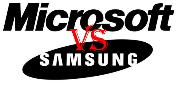 微软和三星讨论结束他们的专利Feut
