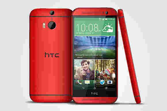 O2仅在8月4日获取HTC One(M8)魅力红色