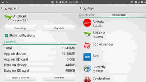 索尼Xperia手机现在可以将应用程序移动到SD卡