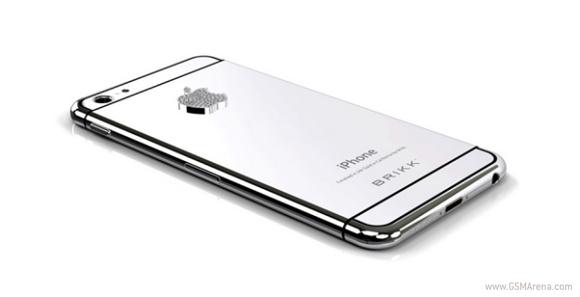 您现在可以从Brikk预订金苹果iPhone 6