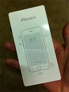 泄露的iphone 6手册显示全新设计