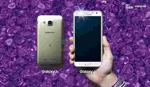 三星Galaxy J7和J5带前置闪光灯现在是官方的