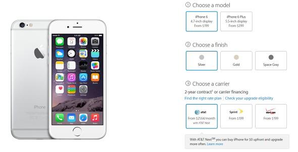 Apple不再使用常规AT&T合同销售iPhone