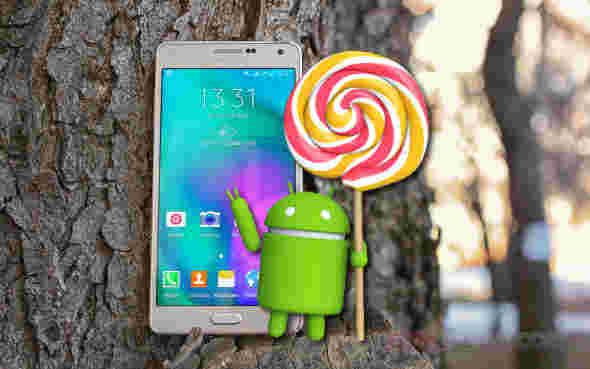 Android 5棒棒糖现在在三星Galaxy A7上播种