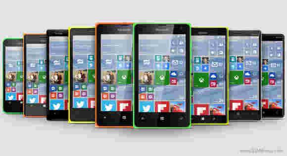 Microsoft将控制Windows 10手机的固件更新