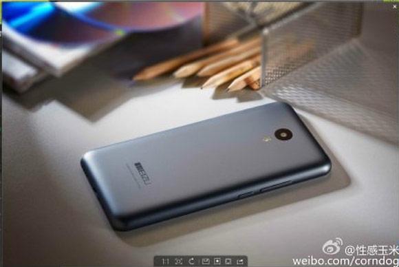 Meizu M1注意2图像显示了重定量的电源按钮
