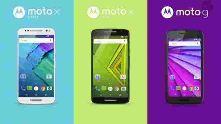 摩托罗拉Moto X STYLE和MOTO X玩剧用21MP相机宣布