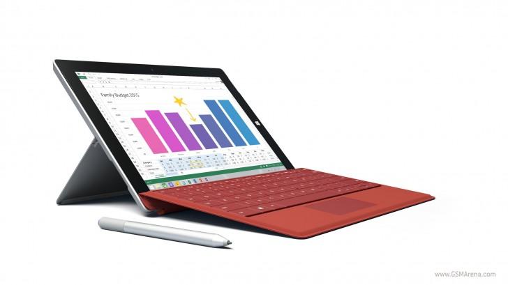 AT&T将在7月24日开始使用4G销售Microsoft Surface 3
