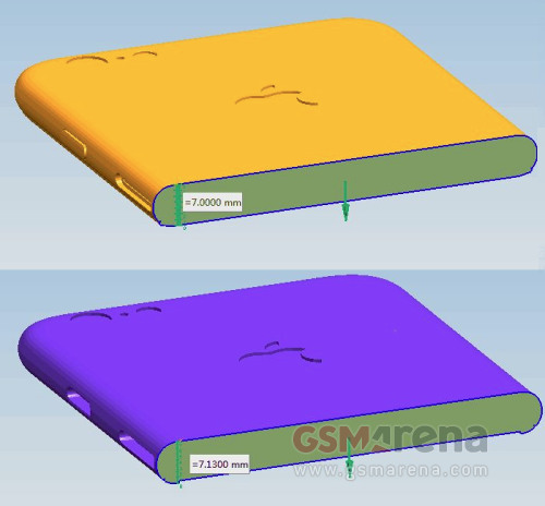 独家:iPhone 6S Duo更厚,案例草图确认