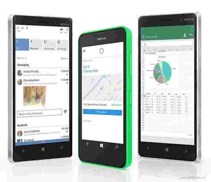 Microsoft宣布卢米亚将首先获得Windows 10