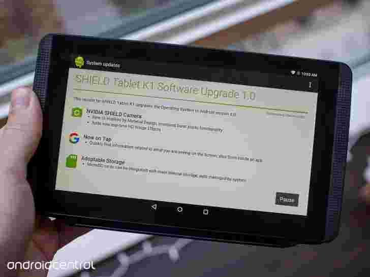NVIDIA开始推出盾牌平板电脑K1的Android 6.0棉花糖更新