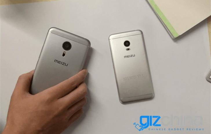 Meizu Pro 5迷你照片显示略有不同的设计