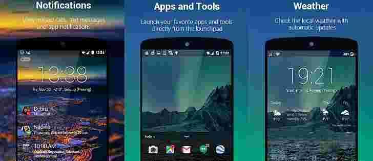Microsoft更新下一个锁定屏幕for Android