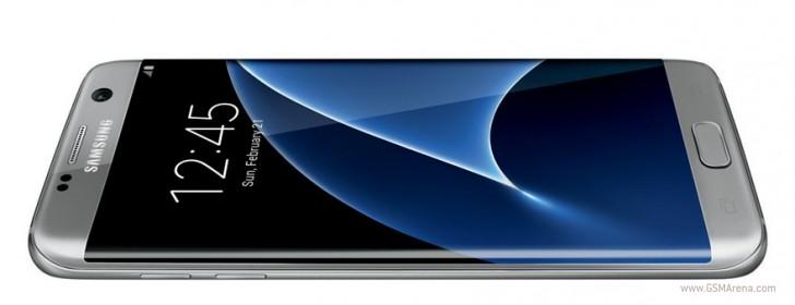 三星Galaxy S7 Edge在新的渲染中炫耀其曲线