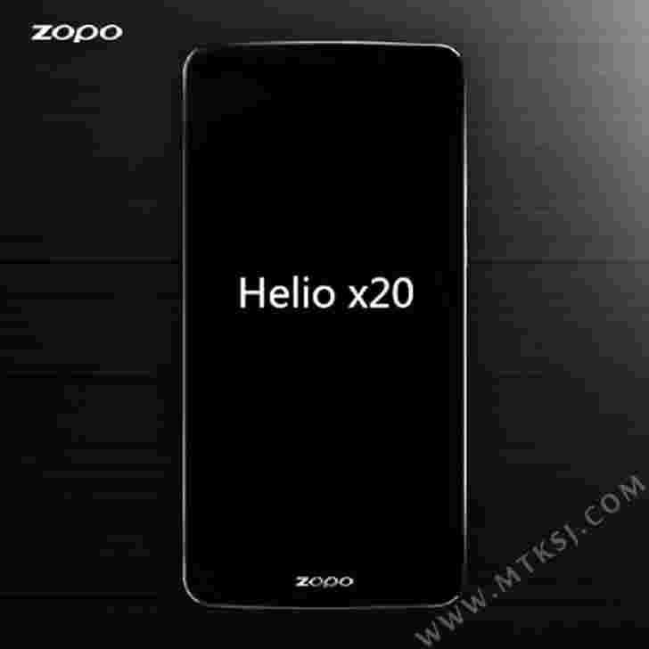 Zopo戏弄新速8旗舰在MWC 2016揭幕