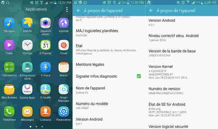 另一个三星Galaxy S5收到Android 6.0.1