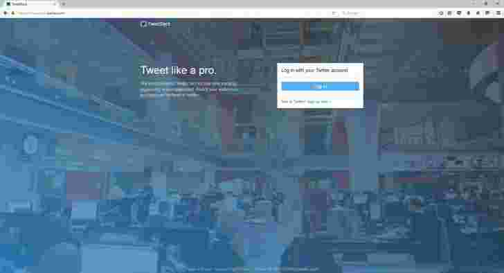 Twitter destinules for Windows的TweetDeck应用程序