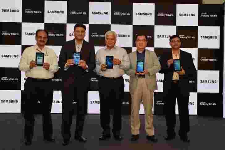三星Galaxy Tab IRIS与生物识别技术在印度土地