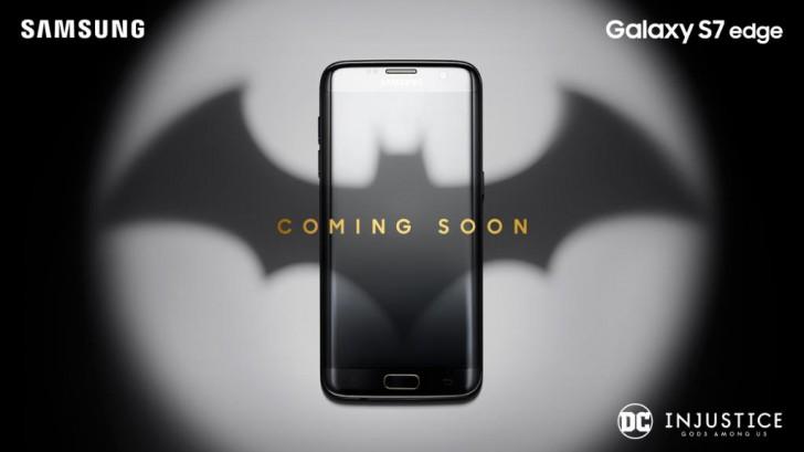 三星戏弄蝙蝠侠主题Galaxy S7限量版