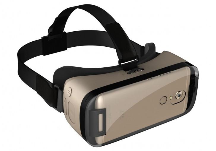 中兴通讯刚刚推出了VR耳机与Axon 7一起去