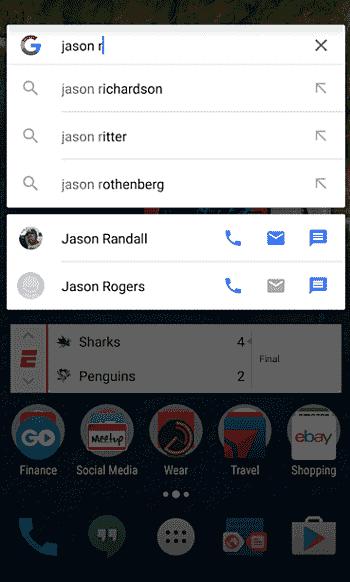 Google的搜索应用程序很快就可以直接致电,文本,并通过电子邮件发送您的Google联系人