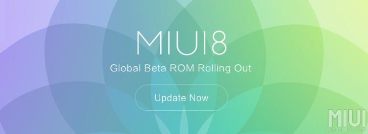 MIUI 8全局测试版现在可供选择设备