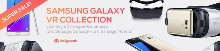 GEAR VR和兼容智能手机接收价格降价