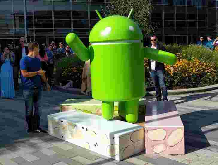 Android N是Android Nougat,Google揭示了