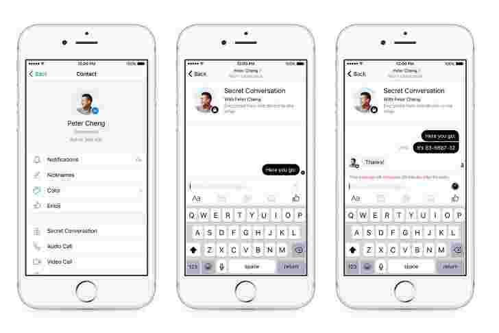 Facebook最终开始测试Messenger的端到端加密