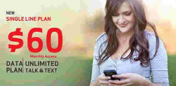 Verizon添加了60美元的无限计划,具有2GB的数据
