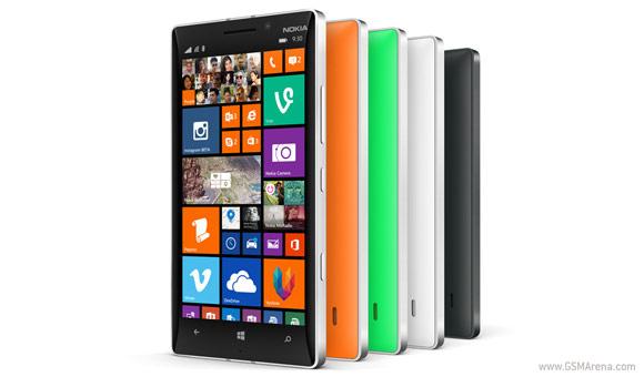 诺基亚Lumia 930本周销售