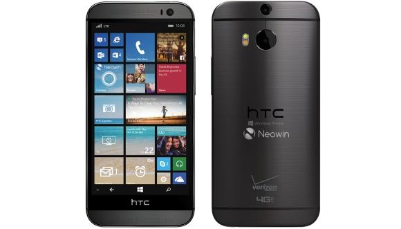 使用WP 8.1泄漏的HTC One(M8)的更多按压镜头