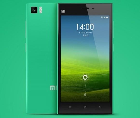 小米MI 3获得绿色版,仅为16GB单位