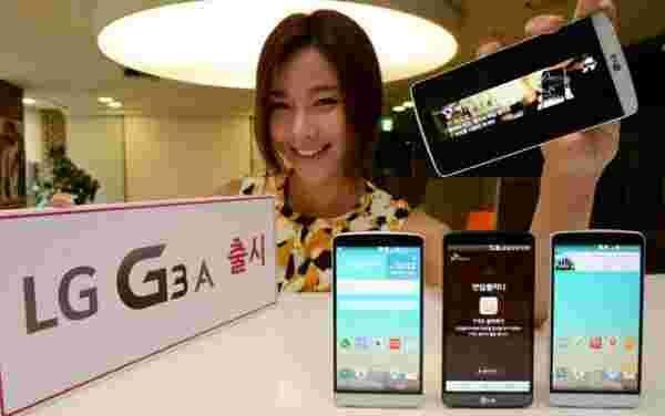 LG宣布韩国的G3 A