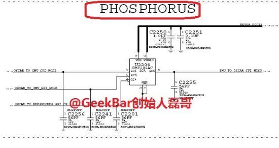 Apple iPhone 6配有磷协处理器