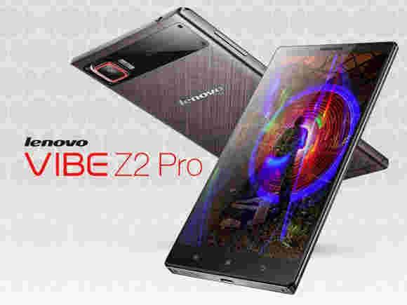 "Lenovo Vibe Z2 Pro是一个6""QHD显示屏的官方"
