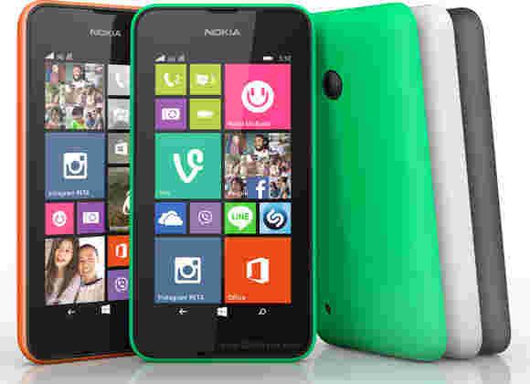 诺基亚Lumia 530前往拖曳中的双SIM版本