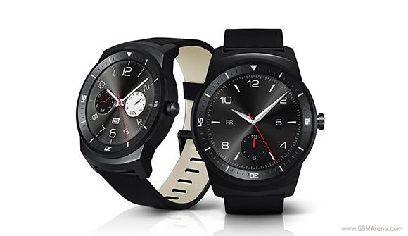 LG G Watch R与圆形P-OLED显示屏亮相