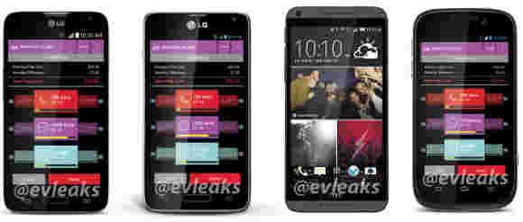 四部新手机在前往Virgin Mobile的路上泄露